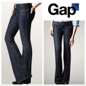 GAP Perfect Boot Dark Wash Jeans Size 10